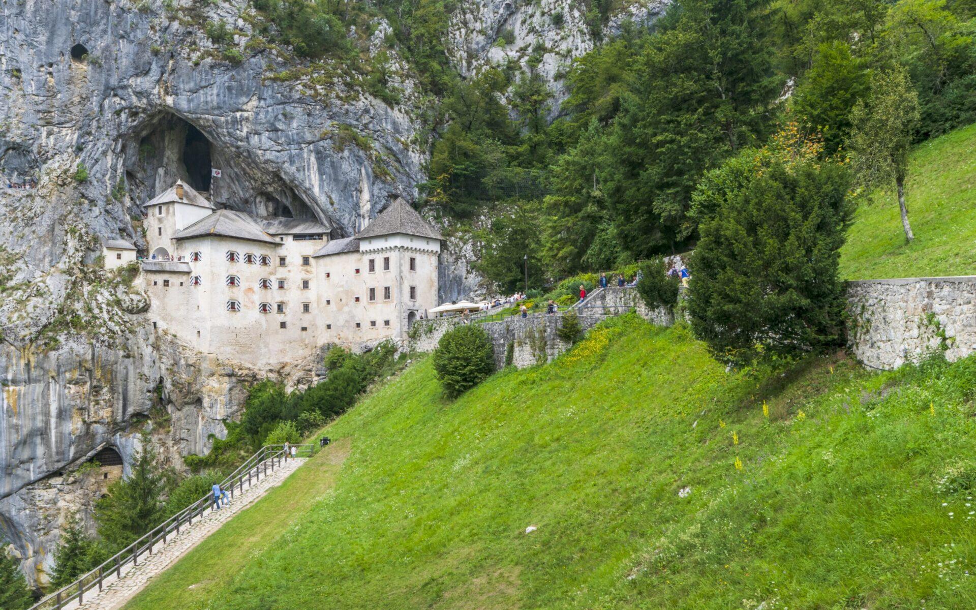 predjama castle, castle, slovenia