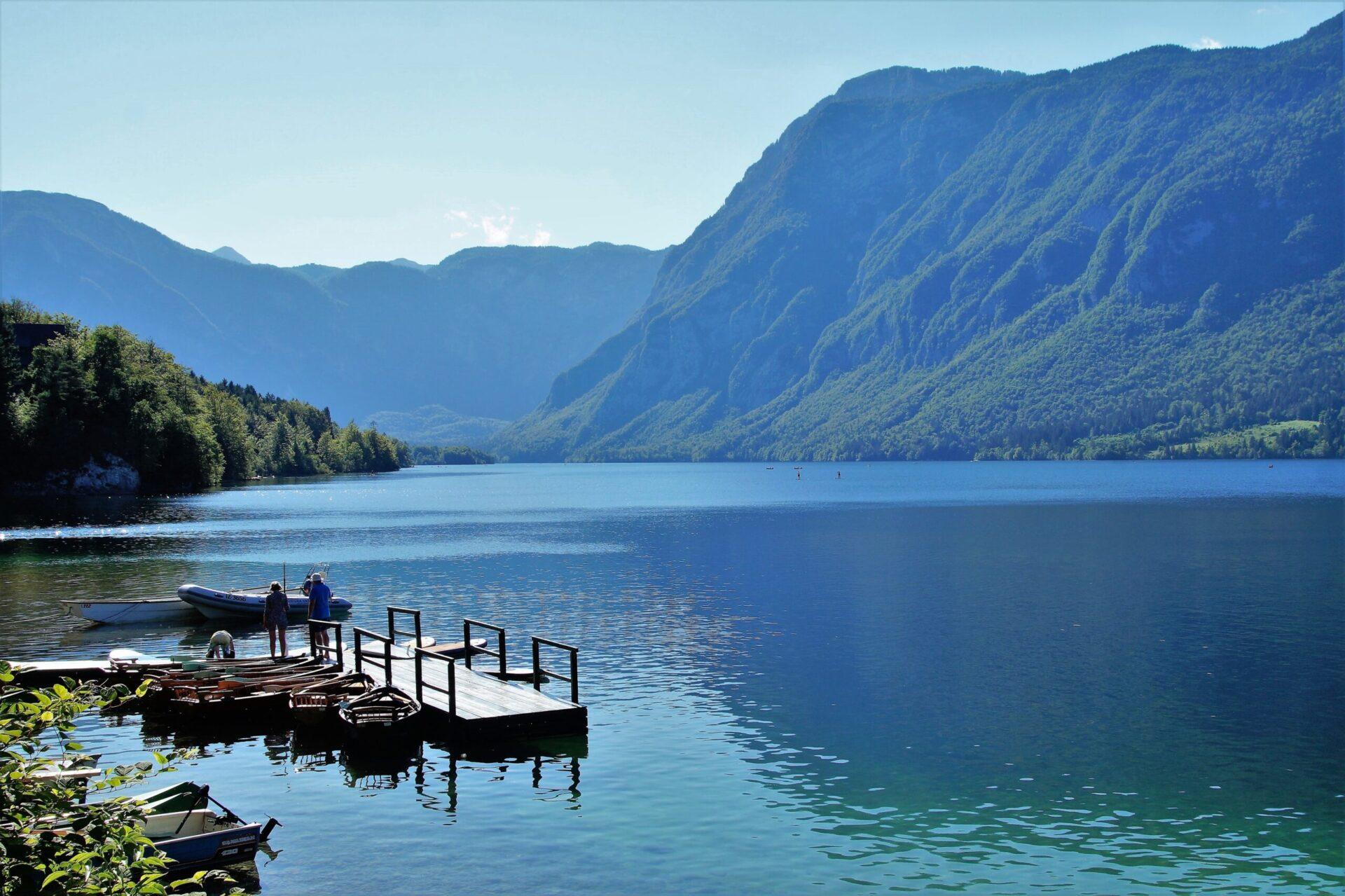 lake bohinj, bohinj, water sports